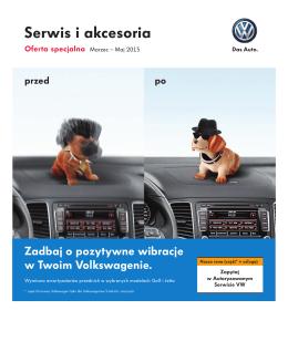 maj 2015 - Volkswagen