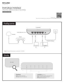 TL-SG1005D_QIG_V1 - TP-Link