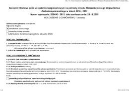 Szczecin: Dostawa paliw w systemie bezgotówkowym na potrzeby