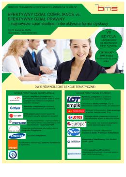 efektywny dział prawny&dział compliance