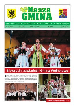 Nasza Gmina Maj 2015 - Urząd Gminy Wejherowo