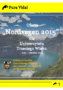 Szczegółowy program wycieczki do Norwegii