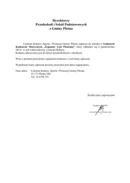 regulamin gminnego konkursu żegnamy lato piosenką_2015