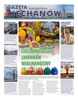 marzec 2015 - Urząd Miasta Ciechanów