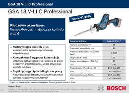 GSA 18 V-LI C Professional