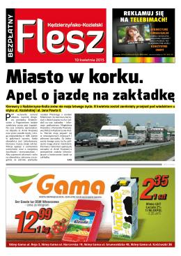 Apel o jazdę na zakładkę - FLESZ Kędzierzyńsko