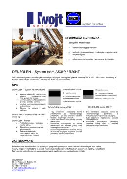 DENSOLEN – System taśm AS39P / R20HT