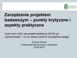 prezentacja dr Anna Prusak