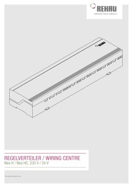 Instrukcja montażu Rozdzielacz regulacji Nea H i HC