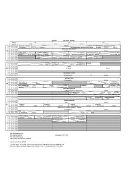 grupa ćw. godzina 1 8.15 - 9.00 Mechanika techniczna ćw. WM