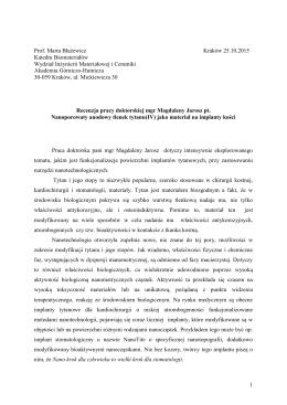 prof. dr hab. inż. Marta Błażewicz