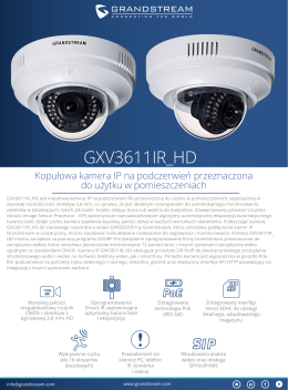GXV3611IR_HD - Grandstream