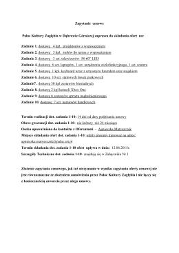 Szczegóły techniczne dotyczące zadania 1-10