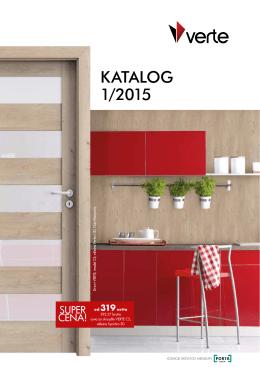 Katalog:Cennik – drzwi VERTE 2015