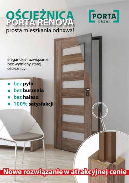Ościeżnica Porta RENOVA
