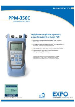 Specyfikacja PPM-350C