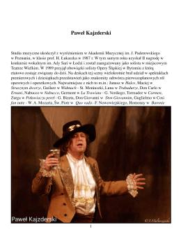 Paweł Kajzderski