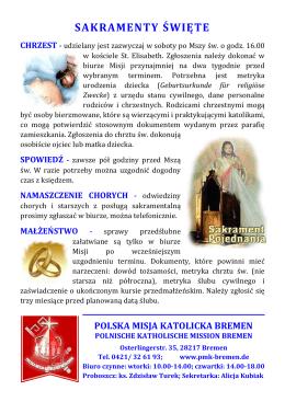 Sakramenty święte
