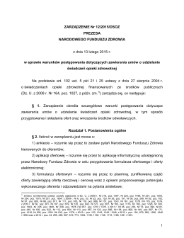 plik PDF - Pomorski Oddział Wojewódzki NFZ