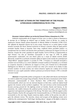 Military actions on the territory of the Polish