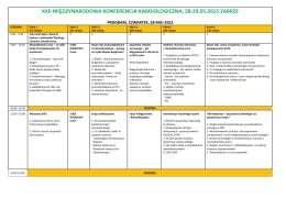 xxii międzynarodowa konferencja kardiologiczna, 28
