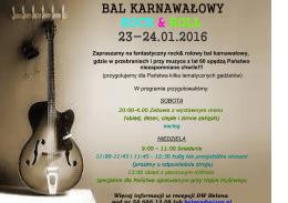 bal karnawałowy rock & roll 23-24.01.2016