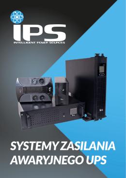 SYSTEMY ZASILANIA AWARYJNEGO UPS - IPS