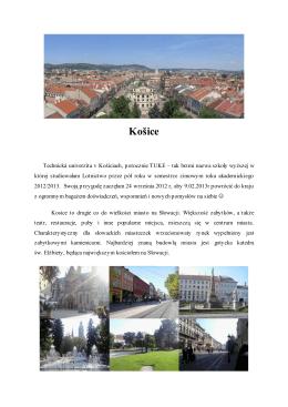 Košice - Erasmus