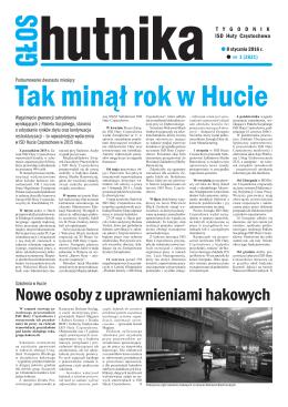 Głos Hutnika nr 01