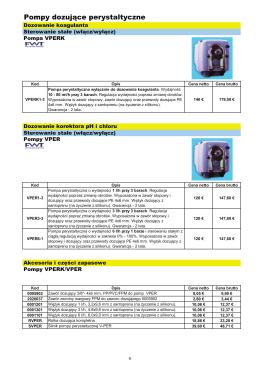 katalog pompy perystaltyczne