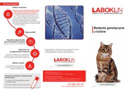 Otwórz PDF - LABOKLIN Polska