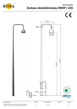 Karta produktu Zestaw oświetleniowy DROP I LED