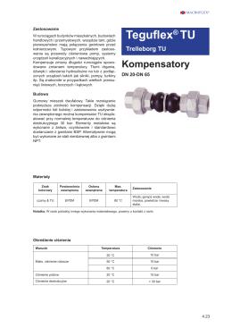 Kompensatory gumowe