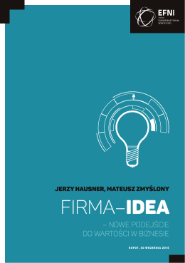 """ideę""""Firmy-Idei"""""""