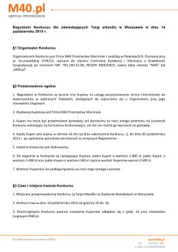 M40.pl - Papier Firmy