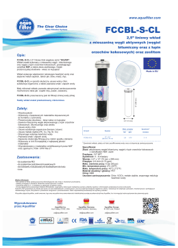 fccbl-s-cl - Aquafilter