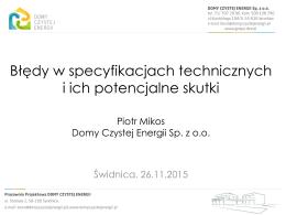 2. Piotr Mikos - Pogoda dla prosumenta