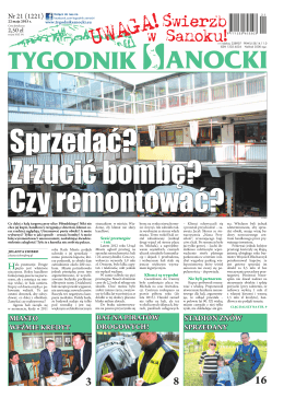 22 maja 2015 r. - Tygodnik Sanocki