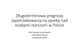 Zofia Szweda-Lewandowska (Uniwersytet Łódzki)