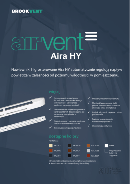 Aira HY - Brookvent