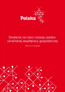 Działania na rzecz rozwoju polsko