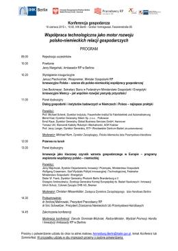 Współpraca technologiczna jako motor rozwoju polsko