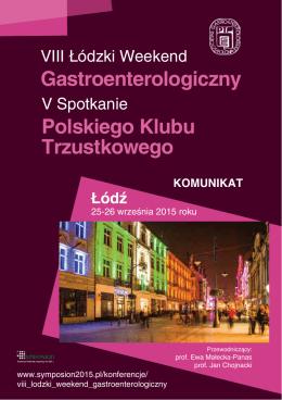 Gastroenterologiczny Polskiego Klubu Trzustkowego