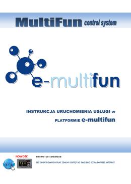 Moduł ETHERNET - Internetowa platforma e-multifun