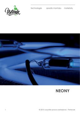 Katalog Neony