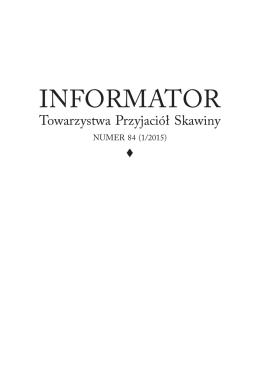 Informator TPS - 84 - Towarzystwo Przyjaciół Skawiny