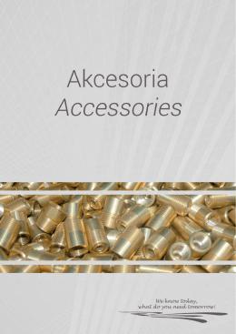 Akcesoria - Zapraszamy do pobrania katalogu w wersji