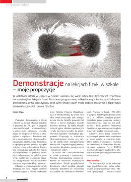 Fizyka w Szkole nr 6_artykul