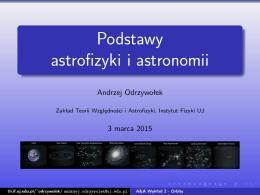 Podstawy astrofizyki i astronomii