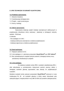 opis_techniczny-branża_elektryczna